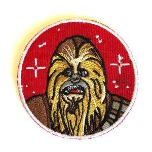 Star Wars patch iron on Chewbacca Wookiee DIY